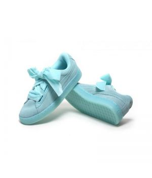 Puma Suede Bow Mint (36-40)