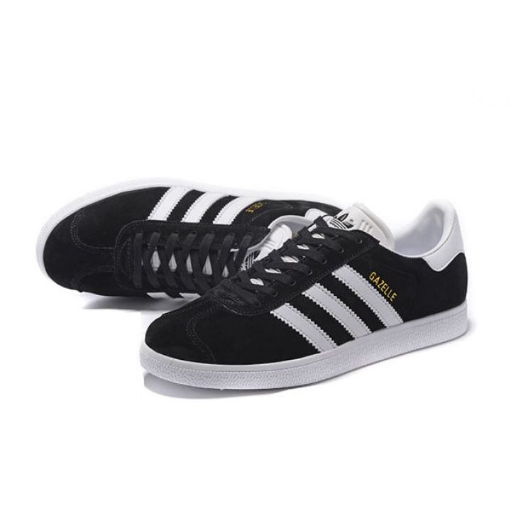 Adidas Gazelle Черные с белым (36-45)