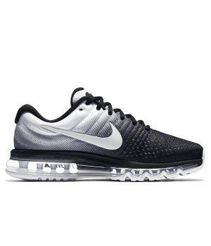 Nike Air Max 2017 мужские чёрно-белые (41-45)