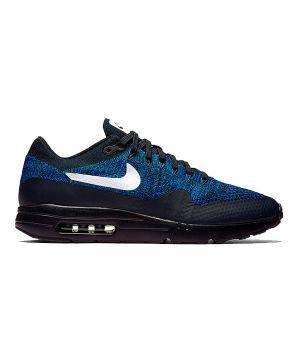 Nike Air Max 87 Ultra чёрные с синим (36-45)