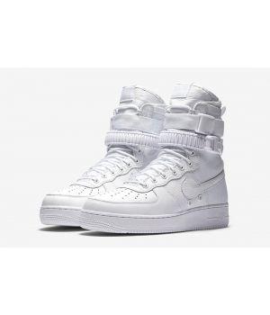 Nike SF AF1 Air Force 1 белые (41-45)