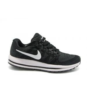 Nike Zoom Vomero 12 черные с белым (40-45)
