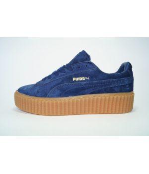 Puma Rihanna Creeper синие (36-40)