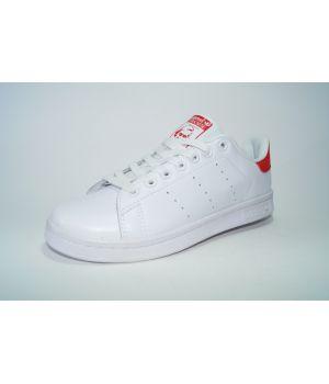 Adidas Stan Smith Белые с красным (36-40)