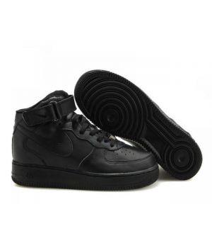 Nike Air Force Унисекс Черные (35-45)