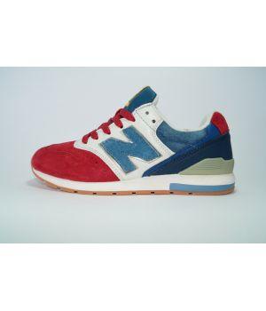 New Balance 996 Красное с синим (36-40)