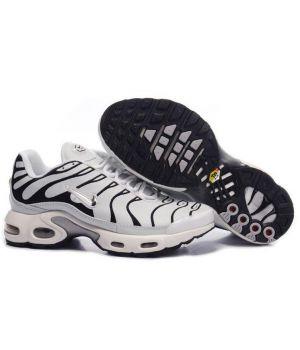 Nike Tn белые с черным (40-45)