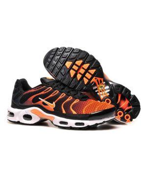 Nike Tn черные с оранжевым (40-45)