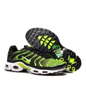 Nike Tn черные с зеленым (40-45)
