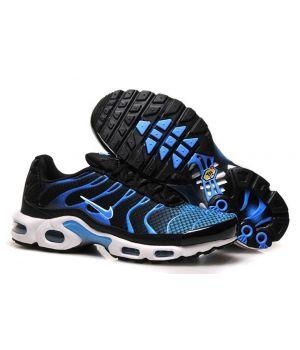 Nike Tn черные с синим (40-45)
