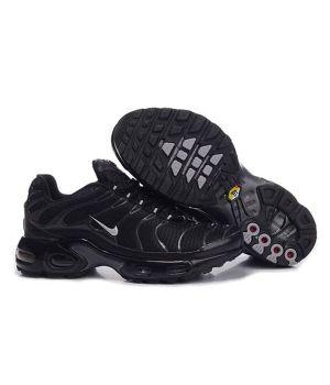 Nike Tn черные с белым (40-45)