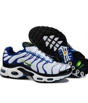 Nike Tn белые с синим (40-45)