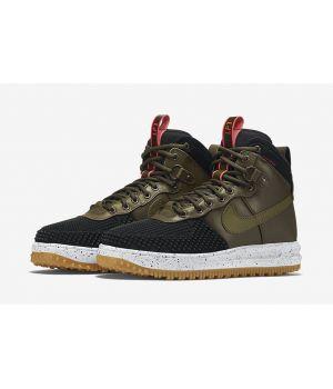 Nike Lunar Force 1 Duckboot Black/Dark Loden-Bright Crimson-Gum Light Brown (41-46)