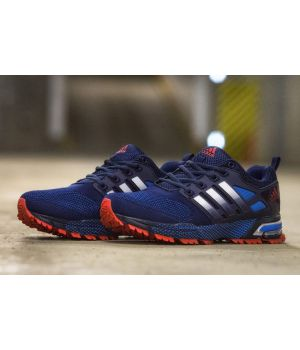 Adidas Marathon Flyknit красно-синие (41-45)
