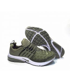 Nike Air Presto Woven мужские зелёные (41-45)