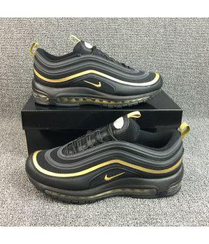 Nike Air Mаx 97 черно-золотые (41-45)