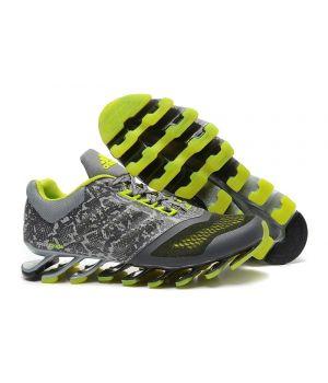 Adidas Springblade Мужские Серо-зеленые