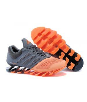 Adidas Springblade Мужские Серо-оранжевые