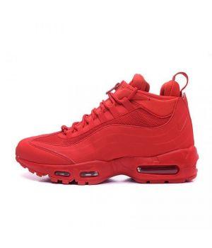 Nike Air Max Sneakerboot 95 красные (41-45)