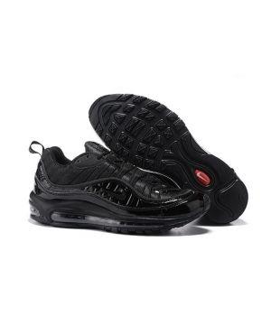 Nike air max 98 Х Supreme черные(40-45)