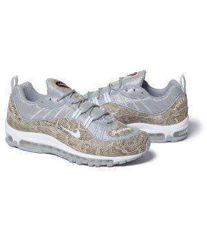 Nike air max 98 Х Supreme бежевые/серебро(40-45)