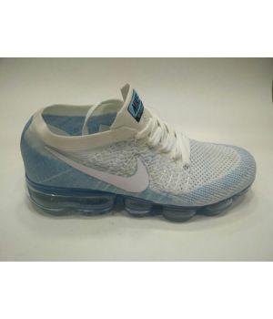 Nike Air VaporMax  бело-голубые (36-40)