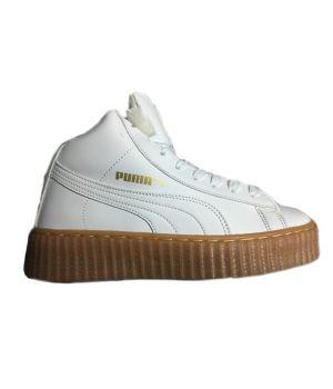 Зимние кроссовки Puma By Rihanna белые