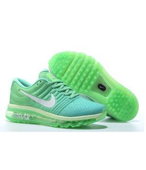 Nike Air Max 2017 зеленые (36-40)
