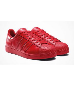 Adidas Super Star Red