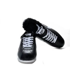 Nike Cortez Man Winter Black