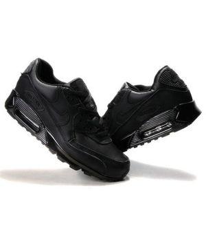 Nike Air Max 90 унисекс черные (36-45)