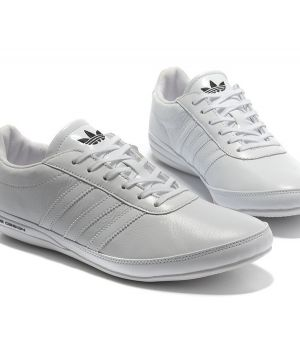 Adidas Porsche Design White Leather