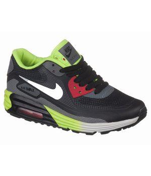 Nike Air Max 90 Lunar Унисекс Черно-зеленые