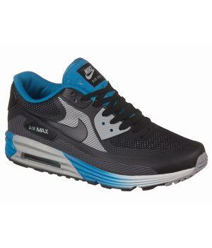 Nike Air Max 90 Lunar Унисекс Черно-голубые