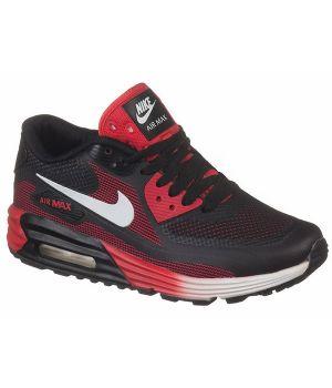 Nike Air Max 90 Lunar Унисекс Черно-красные