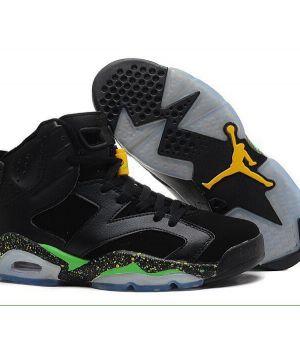 Nike Air Jordan Retro Черно-Зеленые
