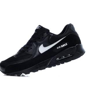 Nike Air Max 90 Мужские Черные с белым