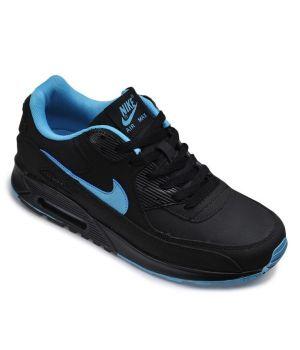 Nike Air Max 90 Мужские Черные с синим