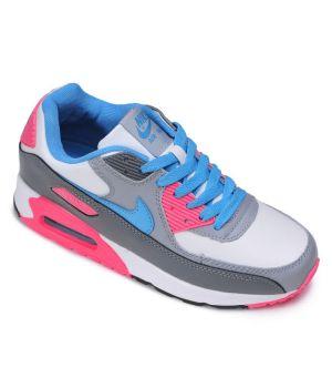 Nike Air Max 90 Женские Серо-розовые