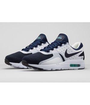 Nike Air Max Zero Мужские Сине-белые (40-45)