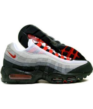 Nike Air Max 95 Мужские Черные с серым (40-45)