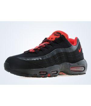 Nike Air Max 95 Мужские Черные с Красным (40-45)
