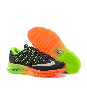 Nike Air Max 2016 Унисекс Черно-оранжевые