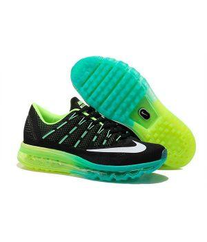Nike Air Max 2016 Мужские Черно-зеленые