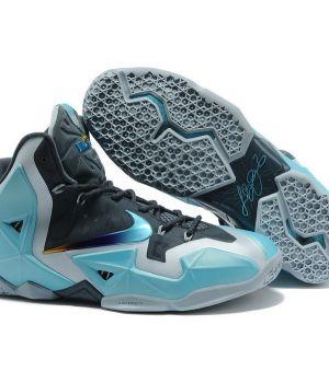 Nike Lebron IX Серо-голубые