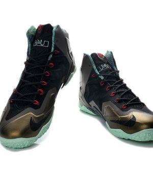Nike Lebron IX Черно-золотой