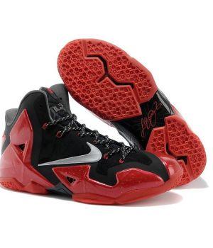 Nike Lebron IX Черно-красные