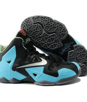 Nike Lebron IX Черно-голубые