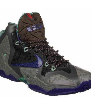 Nike Lebron IX Серо-фиолетовые