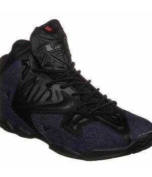 Nike Lebron IX Черно-фиолетовые